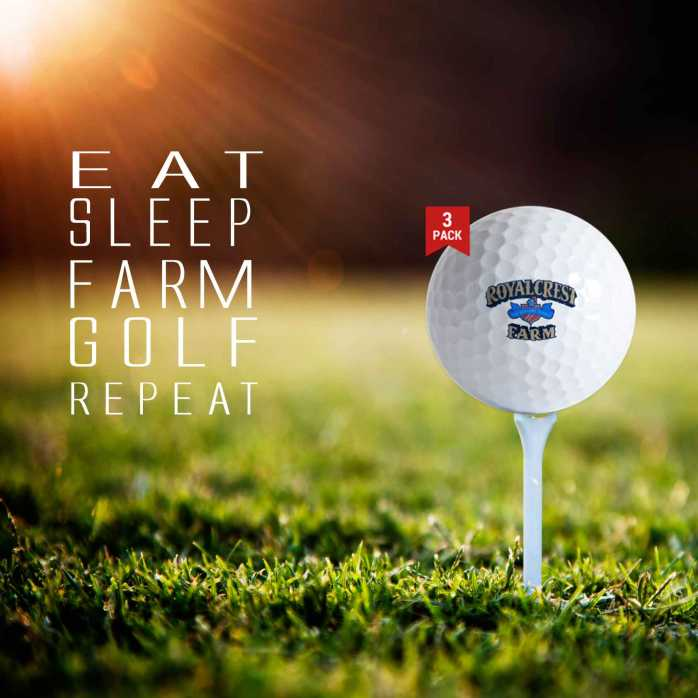 Eat Sleep Farm Golf Repeat